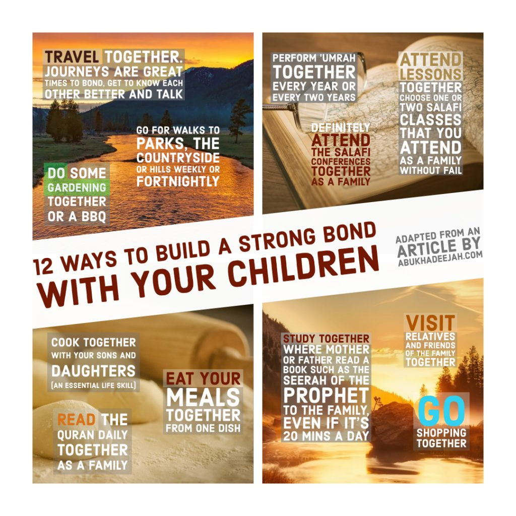 Twelve Steps In Cultivating Our Children and Establishing a Pious